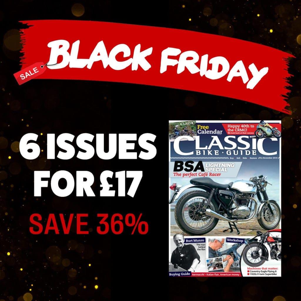 Classic Bike Guide Black Friday offer