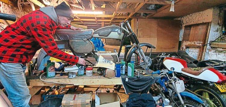 Editor of Classic Bike Guide, Matt Hull