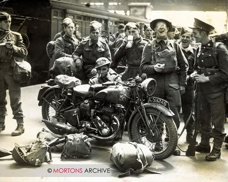 July 1940; men from the second BEF, back after the evacuation from France. Photo: Mortons Archive.