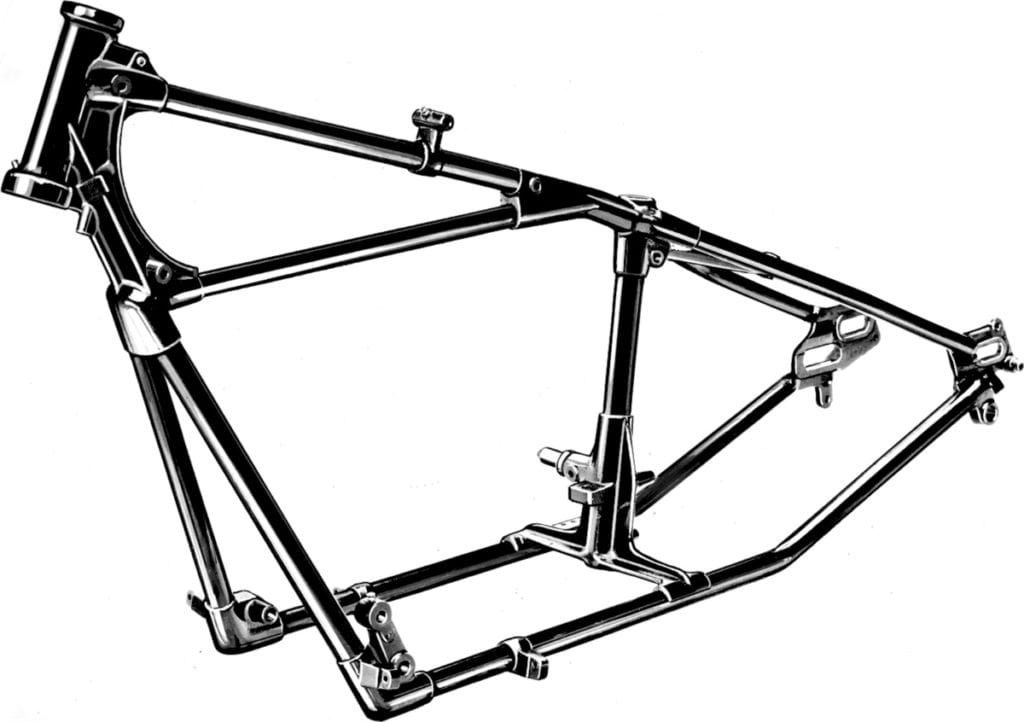 Indian Scout bike frame