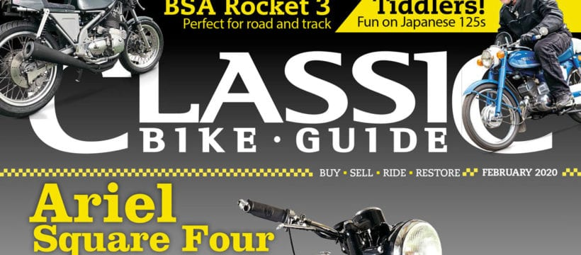 Classic Bike Guide cover